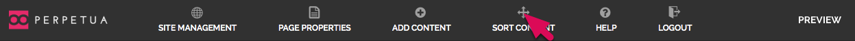 Sort Content Tool